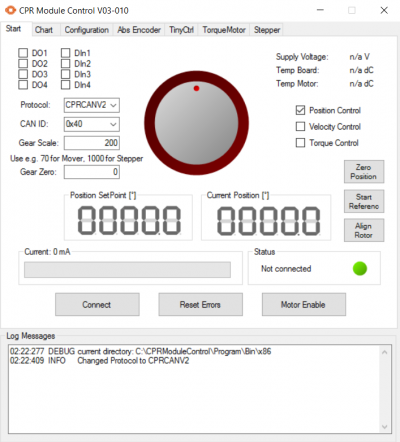 Config Software ModuleCtrl - CPR Wiki